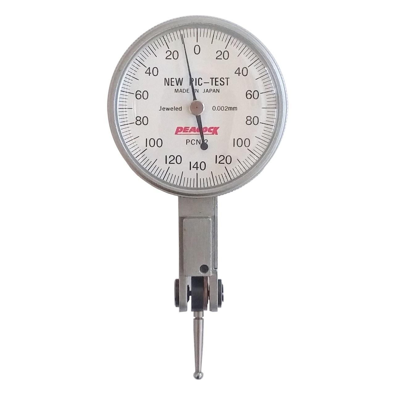 ساعت اندیکاتور پیکاک کد PCN2 گستره 0.28 -0 میلیمتر