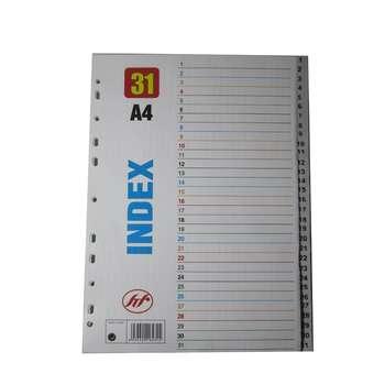 دیوایدر پلاستیکی شماره 31 سایز A4 بسته 10 عددی