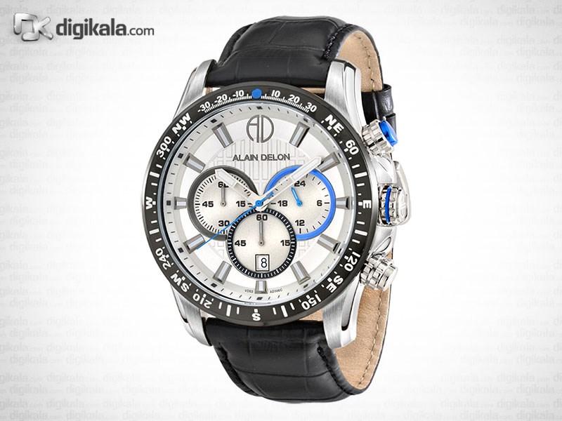 ساعت مچی عقربه ای مردانه آلن دلون مدل  AD306-1312C 38
