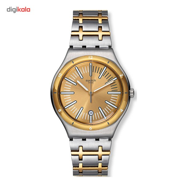 خرید ساعت مچی عقربه ای مردانه سواچ مدل YWS410G