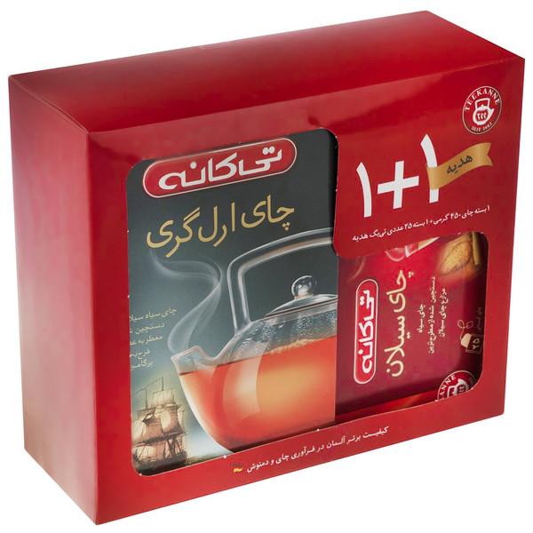 چای سیاه تی کانه مدل Earl Grey Ceylon بسته 2 عددی
