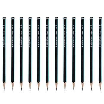 مداد مشکی استدار مدل Noris بسته 12 عددی