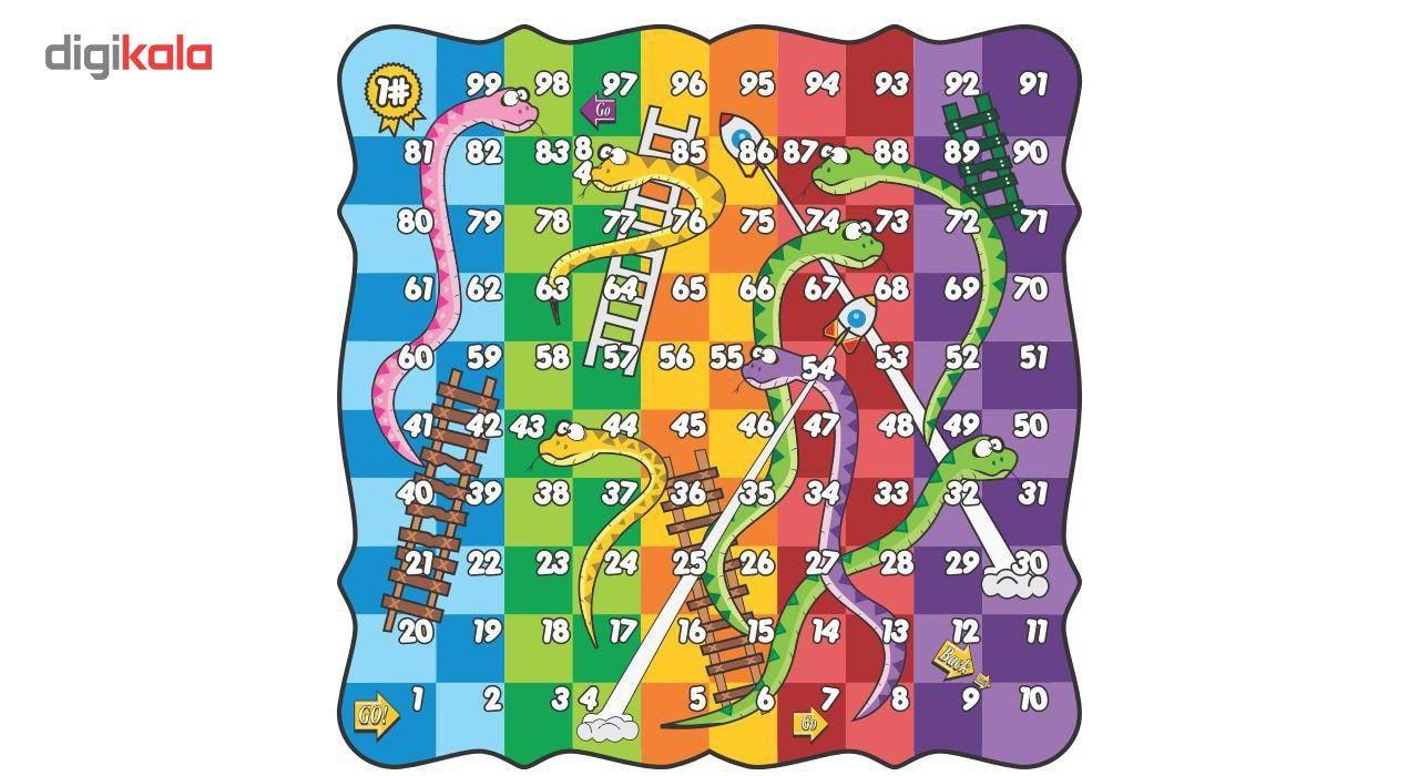 بازی منچ ماروپلهچوبی مدل1000