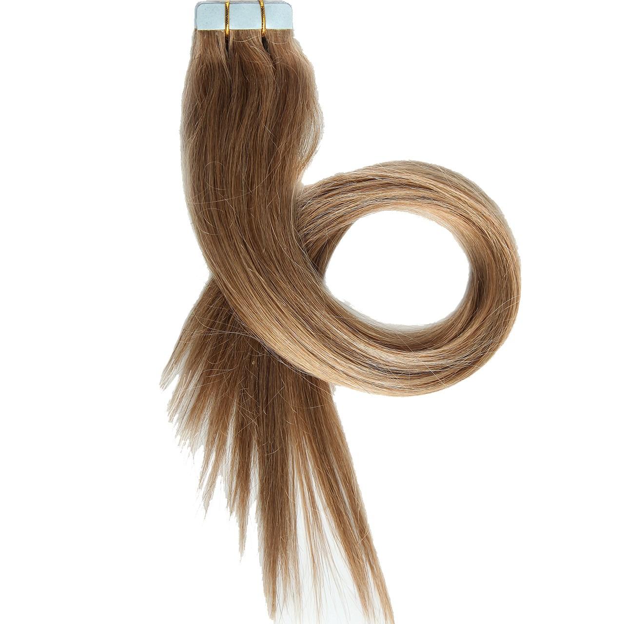اکستنشن موی طبیعی هدا مدل 16 بسته 20 نواری