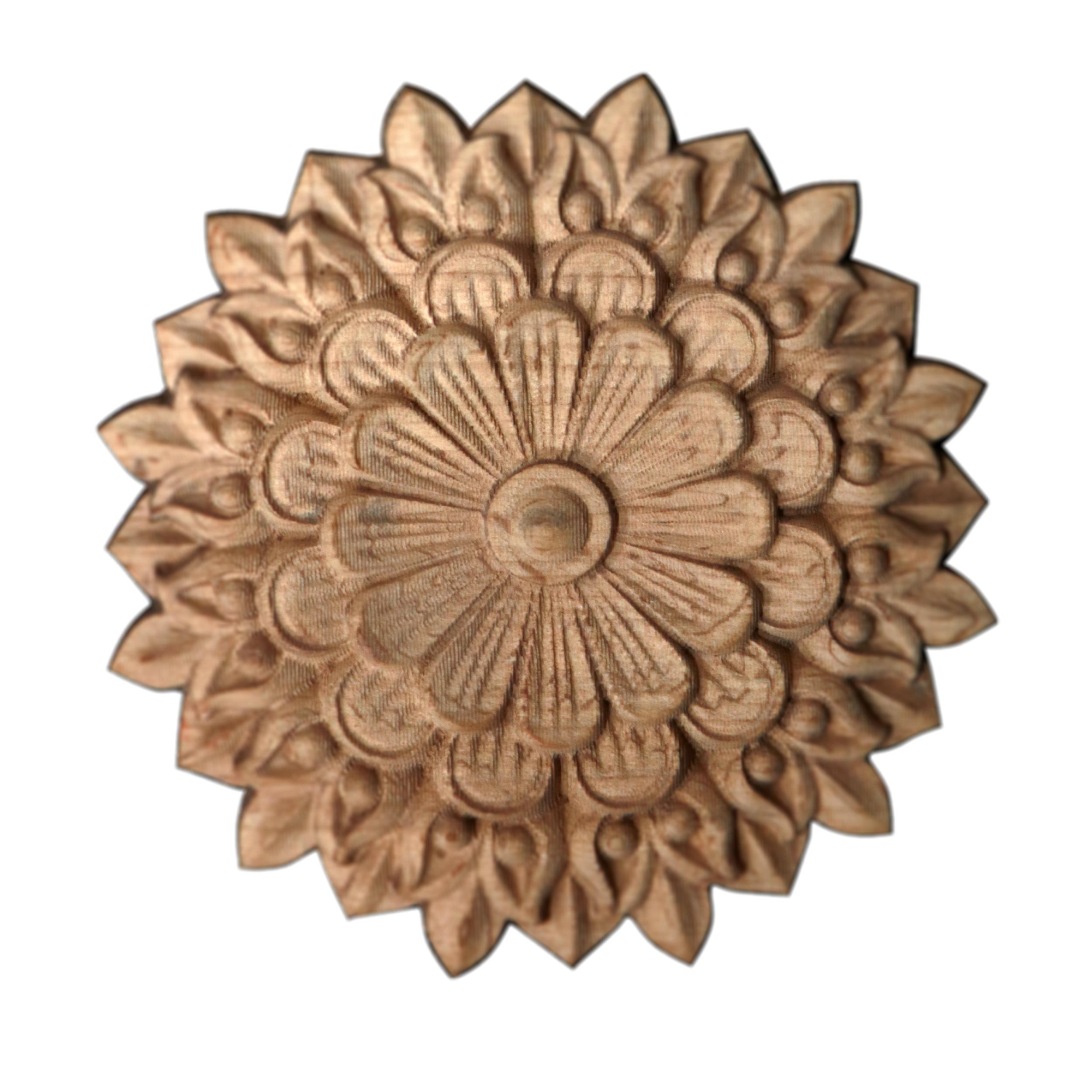 خرید                       گل منبت کاری مدل دالیا کد ۱-۱۱ D
