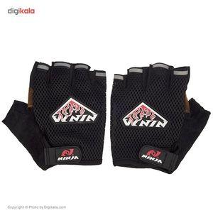 دستکش ورزشی نینجا مدل NH748 سایز Large  Ninja NH748Size Large Sports Gloves