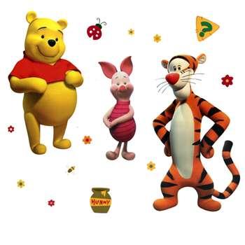 استیکر دکوفان مدل Tiger And Pooh