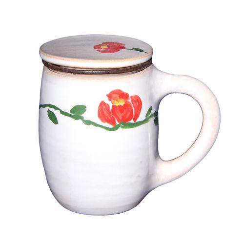 لیوان دمنوش گل سرخی کد MSF33