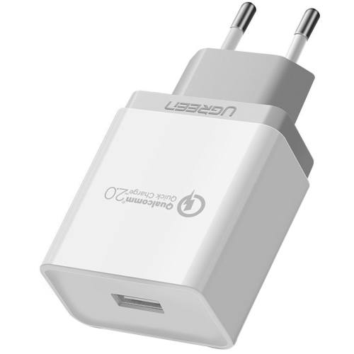 شارژر دیواری یوگرین مدل CD122 20901 Quick Charge 2.0
