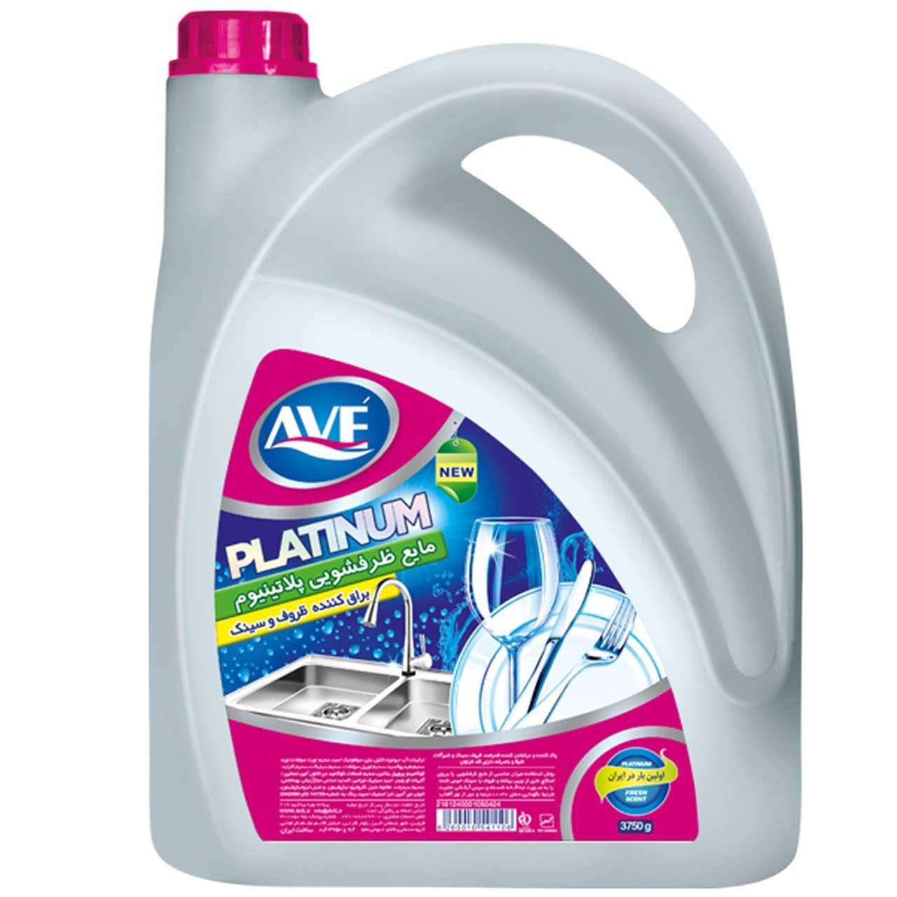 مایع ظرفشویی اوه مدل Platinum مقدار 3750 گرم