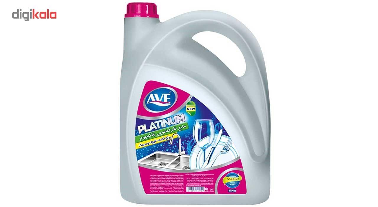 مایع ظرفشویی اوه مدل Platinum مقدار 3750 گرم main 1 1