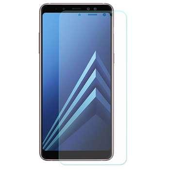 محافظ صفحه نمایش شیشه ای مدل Tempered مناسب برای گوشی موبایل سامسونگ A8 Plus 2018
