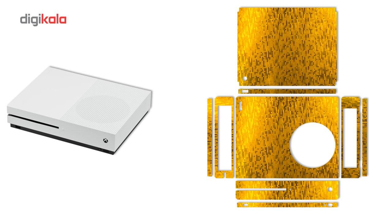 برچسب ماهوت مدل Pixel مناسب برای کنسول بازی Xbox One S