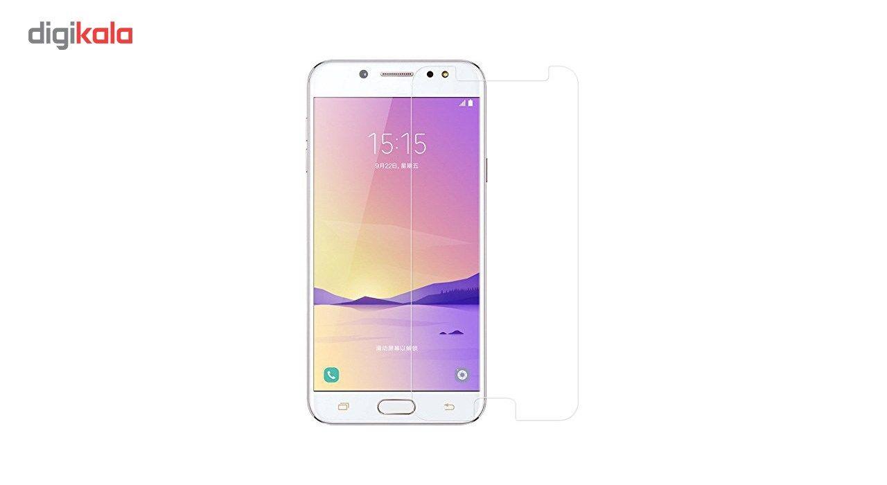 محافظ صفحه نمایش شیشه ای کوالا مدل Full Cover مناسب برای گوشی موبایل سامسونگ Galaxy C8 main 1 3