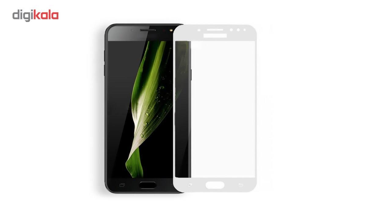 محافظ صفحه نمایش شیشه ای کوالا مدل Full Cover مناسب برای گوشی موبایل سامسونگ Galaxy C8 main 1 4