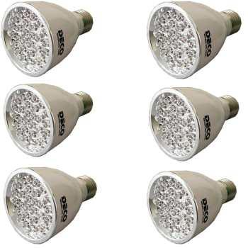 لامپ ال ای دی دکو مدل 2028L پایه E27  بسته 6 عددی