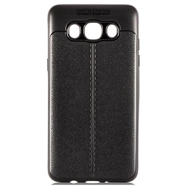 کاور ژله ای طرح چرم مناسب برای گوشی موبایل سامسونگ J5 2016  / J510