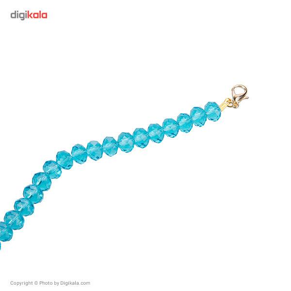 دستبند مهرهای جی دبلیو ال مدل B15034