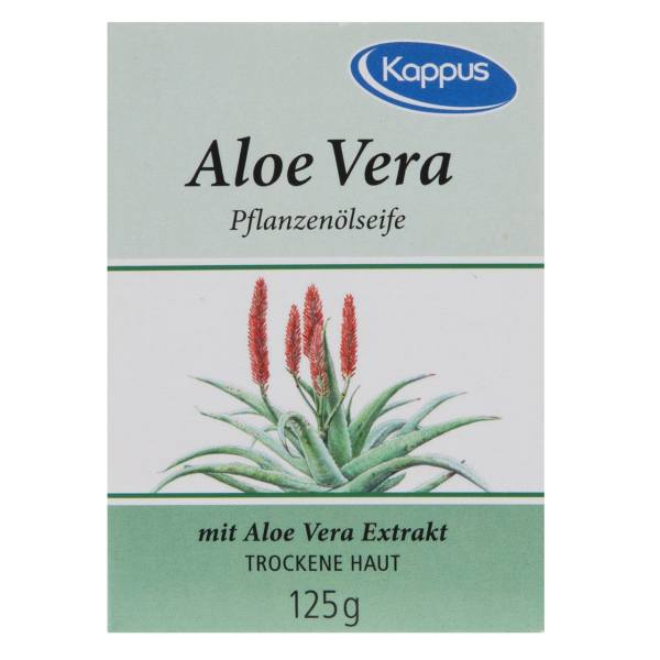 صابون کاپوس مدل Aloe Vera مقدار 125 گرم