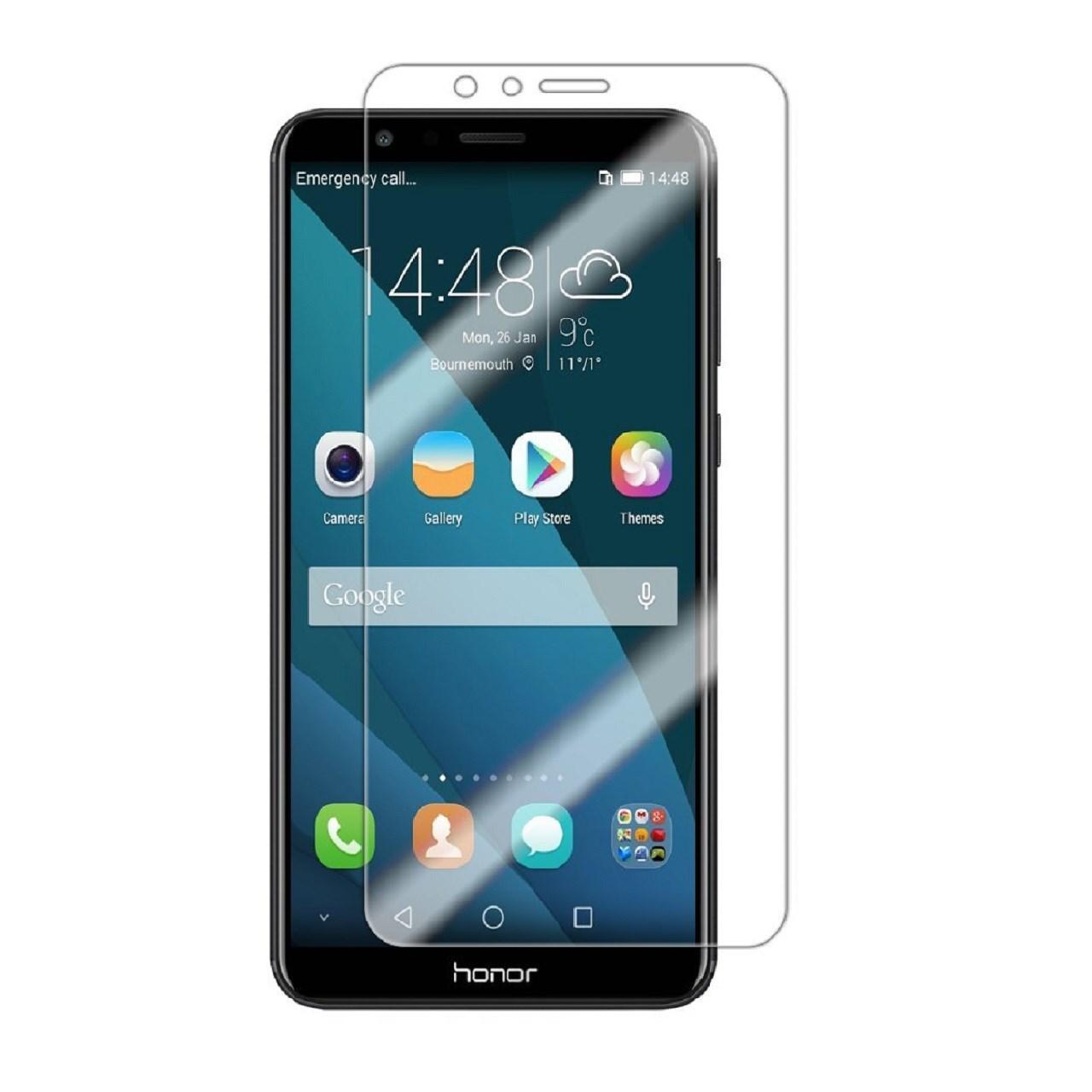 محافظ صفحه نمایش شیشه ای مدل Tempered مناسب برای گوشی موبایل هواوی honor 7x