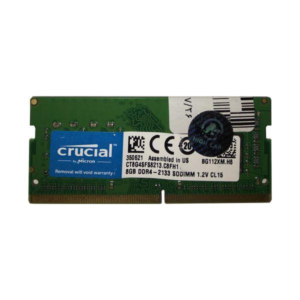 رم لپ تاپ کروشیال مدل DDR4 2133S MHz ظرفیت 8 گیگابایت