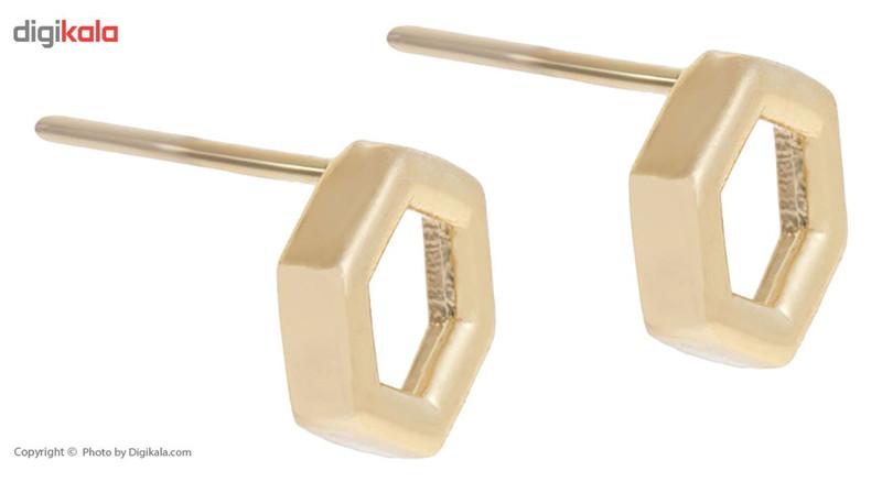 گوشواره طلای 18 عیار زرمان مدل ME0755