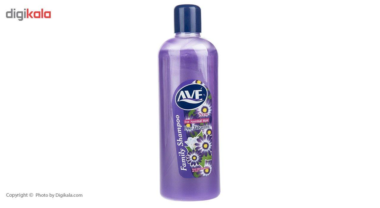 شامپو موهای معمولی اوه سری Pro-Vitamin مقدار 1000 گرم  Ave Pro-Vitamin Normal Hair Shampoo 1000g