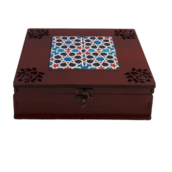 جعبه چای کیسه ای مدل اسلیمی