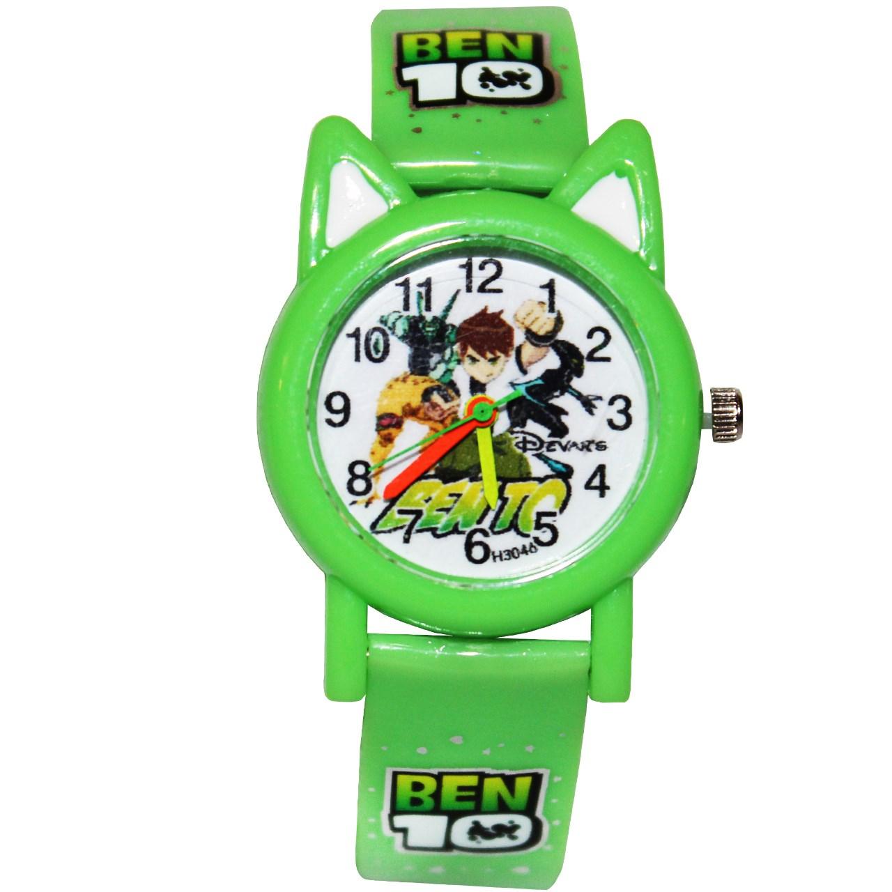 ساعت مچی عقربه ای بچگانه مدل K-06 پسرانه 46