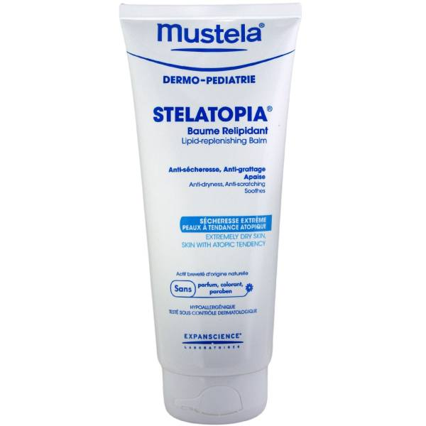 بالم ضدخشکی پوست کودک موستلا مدل استلاتوبیا حجم 200 میلی لیتر