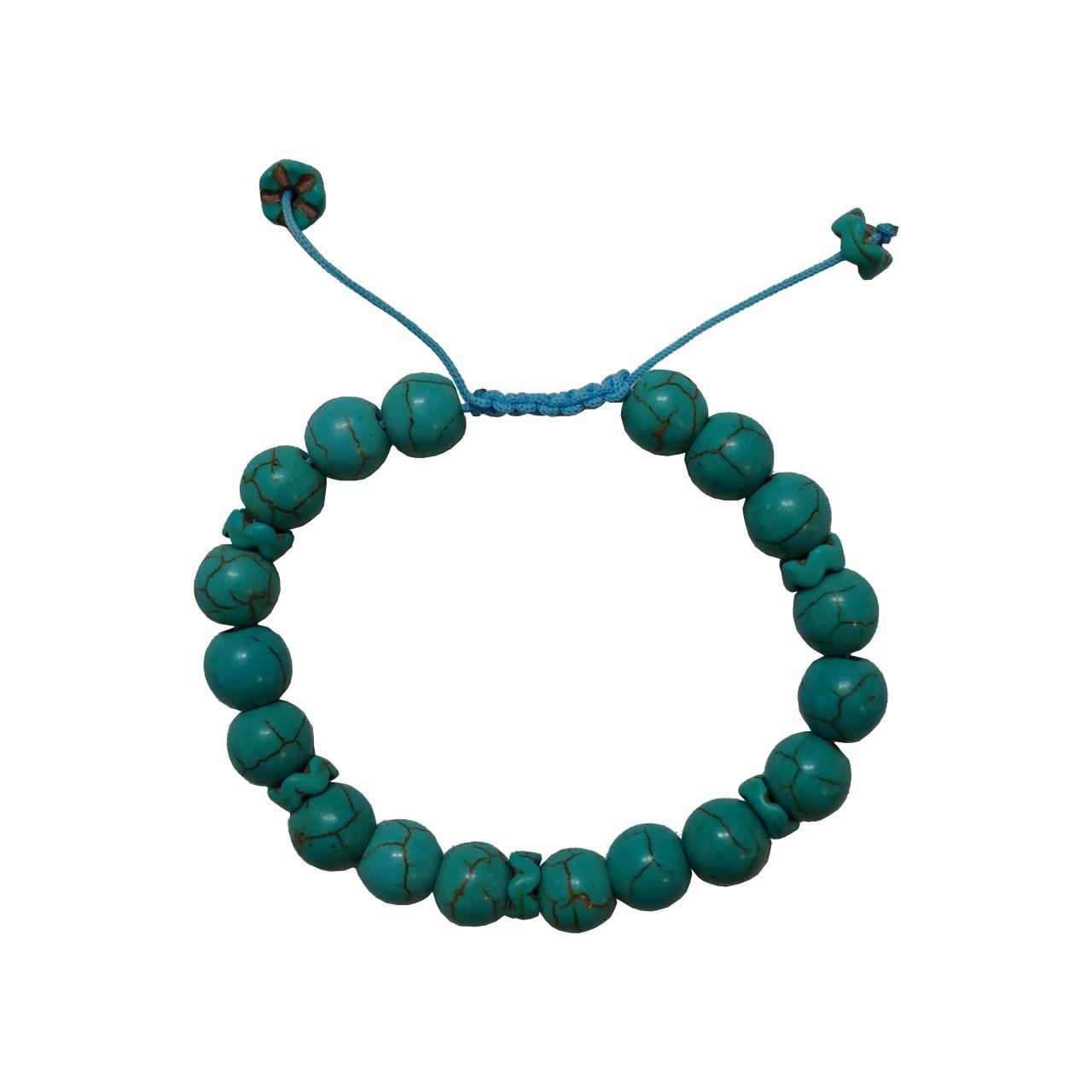 دستبند سنگ فیروزه ویولا
