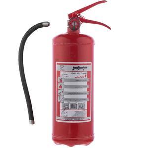 کپسول آتش نشانی سپهر 6 کیلوگرمی
