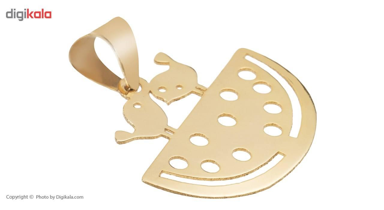 آویز گردنبند طلا 18 عیار ماهک مدل MM0607 - مایا ماهک -  - 1