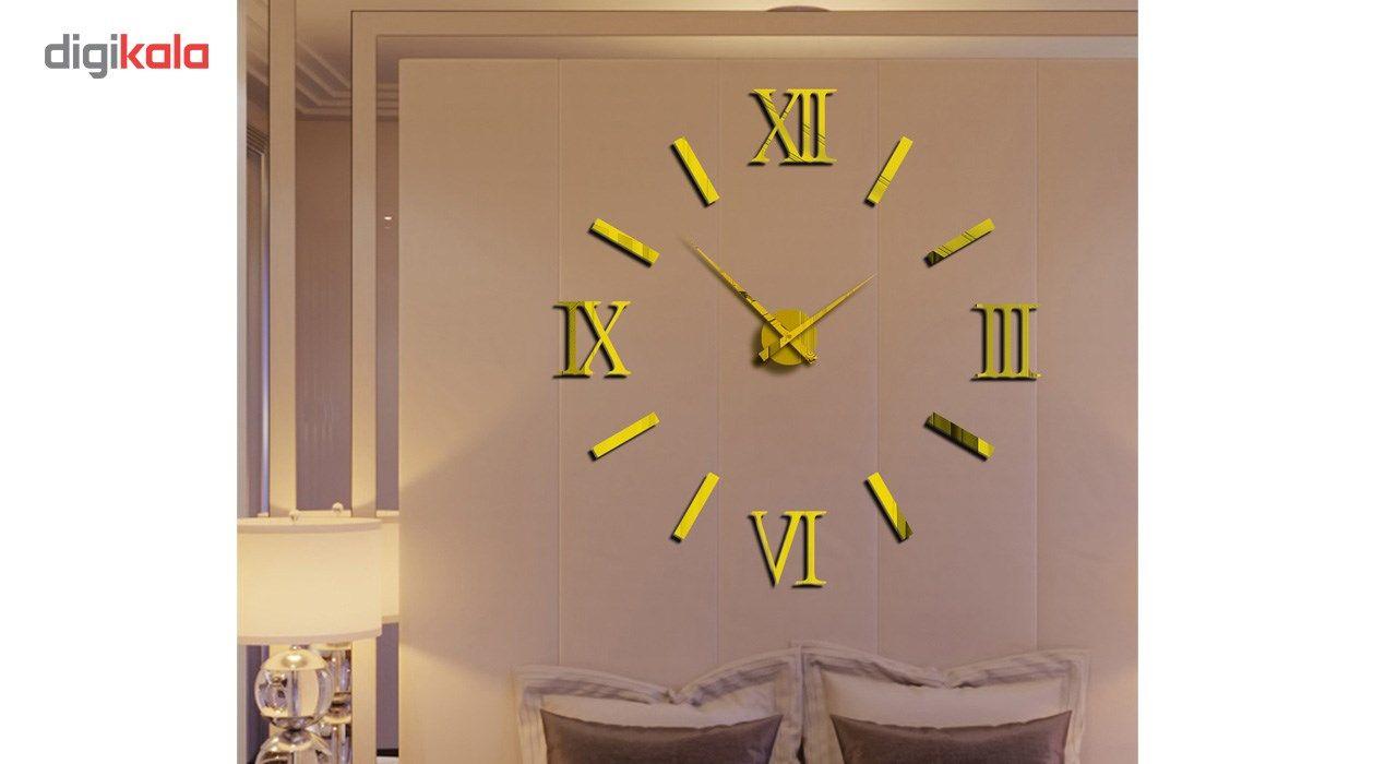 ساعت دیواری پدیده شاپ مدل Roman