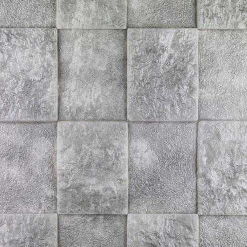 دیوارپوش فومی طرح سنگ ماسه طوسی کد s اندازه 71x77