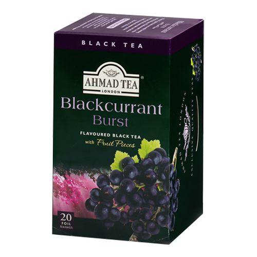 بسته چای میوه ای چای احمد مدل Blackcurrant Burst