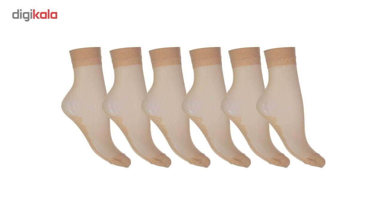 جوراب زنانه شیشه ای پنتی مدل 109 بسته 6جفتی main 1 1