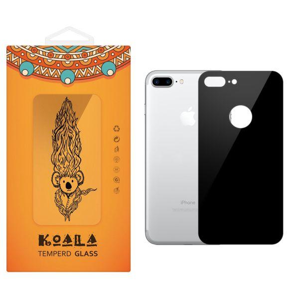 محافظ پشت گوشی شیشه ای کوالا  مدل Full Cover مناسب برای گوشی موبایل اپل آیفون 7Plus/8 Plus