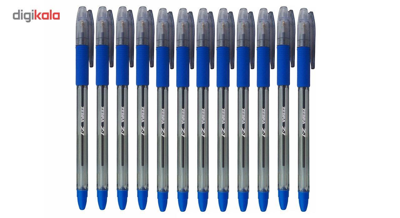 خودکار زبرا مدل Z-1 با نوک0.7 میلی متری بسته 12 عددی main 1 3