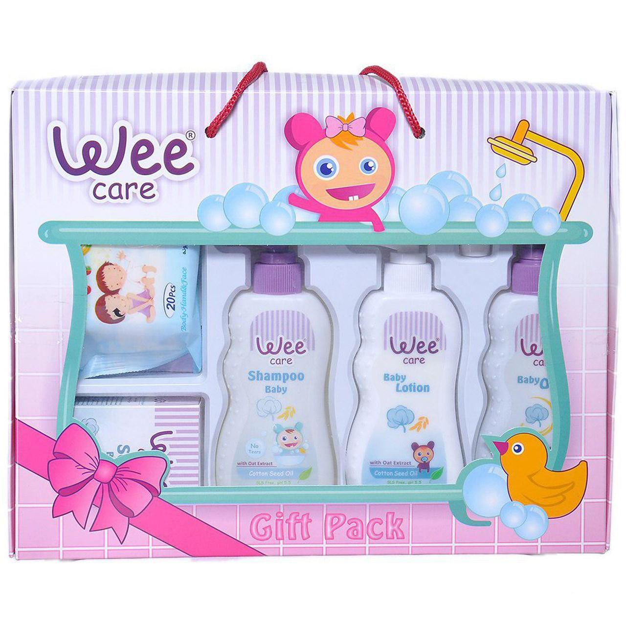 ست هدیه 6 تکه محصولات بهداشتی Wee
