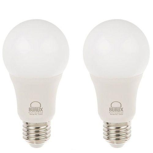 لامپ ال ای دی 12 وات بروکس مدل A60 پایه E27 بسته 2 عددی
