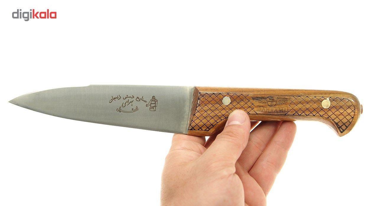 چاقو قصابی بهرامی زنجان کد 355 main 1 3