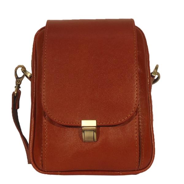کیف رو دوشی چرم مردانه سالار مدل E140-M
