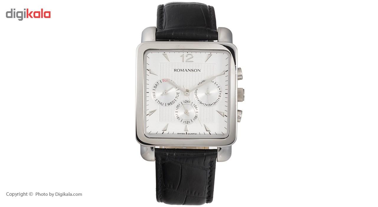 خرید ساعت مچی عقربه ای مردانه رومانسون مدل TL9244MM1WA12W