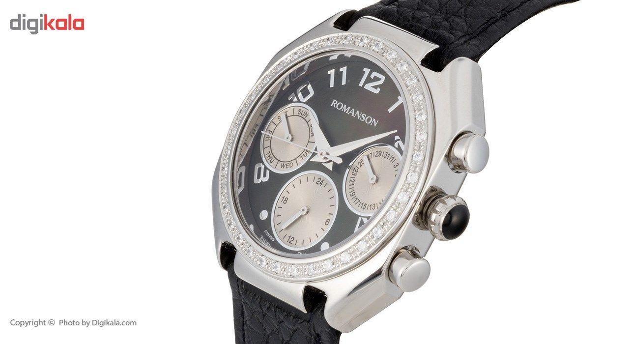 ساعت مچی عقربه ای زنانه رومانسون مدل RL1208BL1WM32W -  - 4