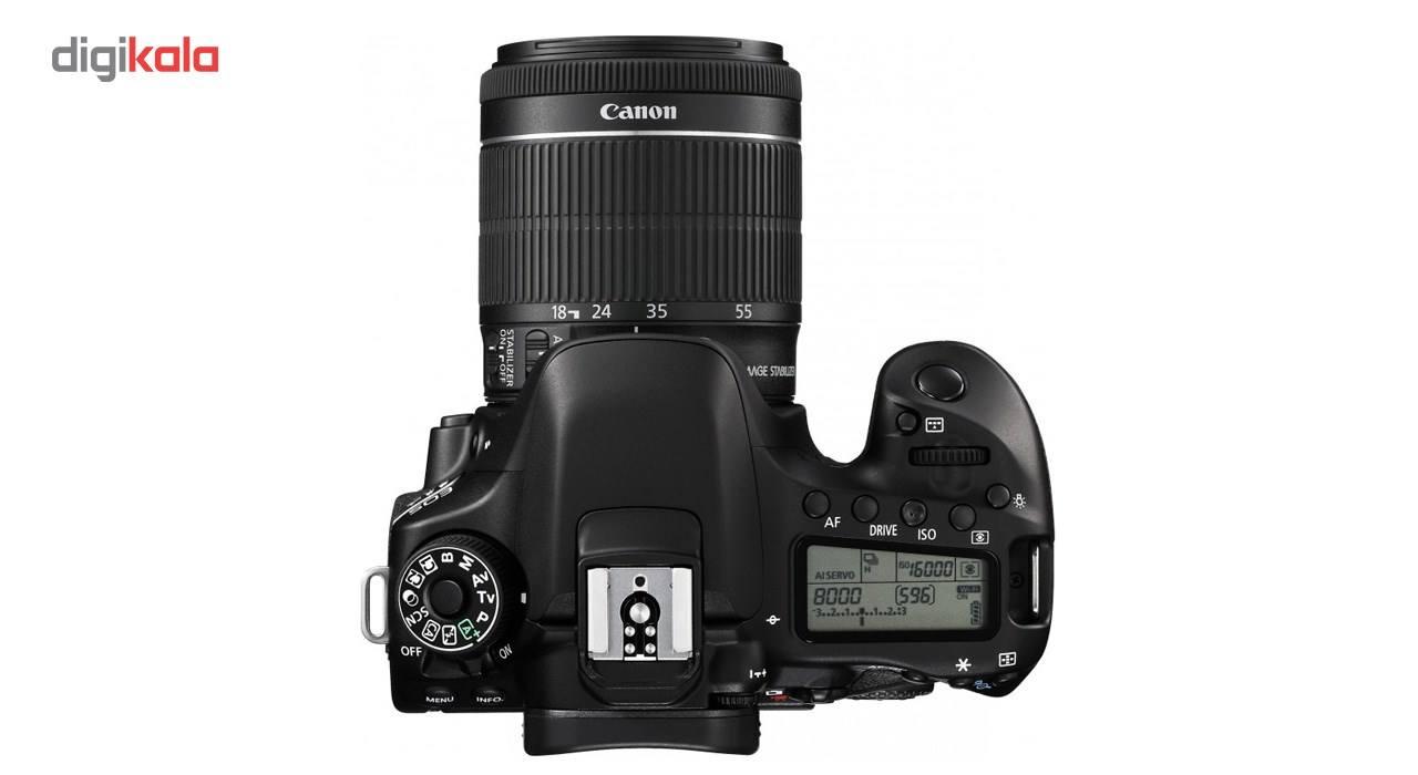 دوربین دیجیتال کانن مدل Eos 80D به همراه لنز EF-S 18-55mm f/3.5-5.6 IS STM main 1 3