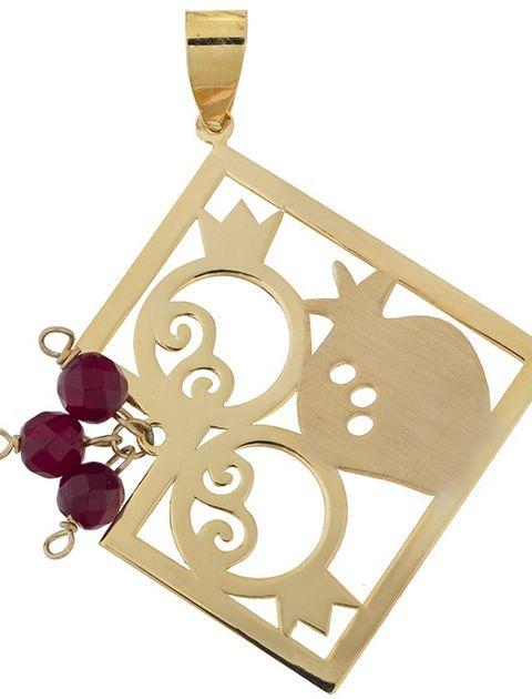 آویز گردنبند طلا 18 عیار ماهک مدل MM0597 - مایا ماهک -  - 2