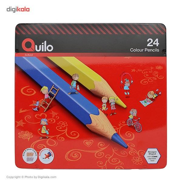 مداد رنگی 24 رنگ کوییلو کد 634007 main 1 1