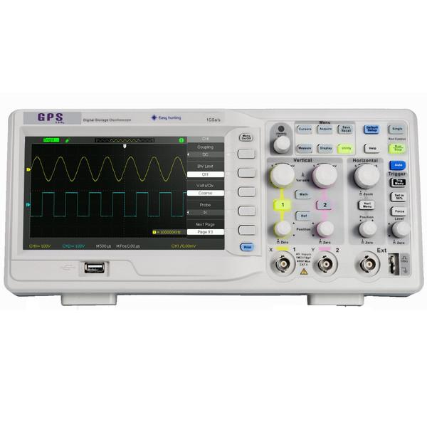 اسیلوسکوپ  دیجیتالی GPS Ltd مدل  GPS-1102B  رنج 100 مگاهرتز دو کانال