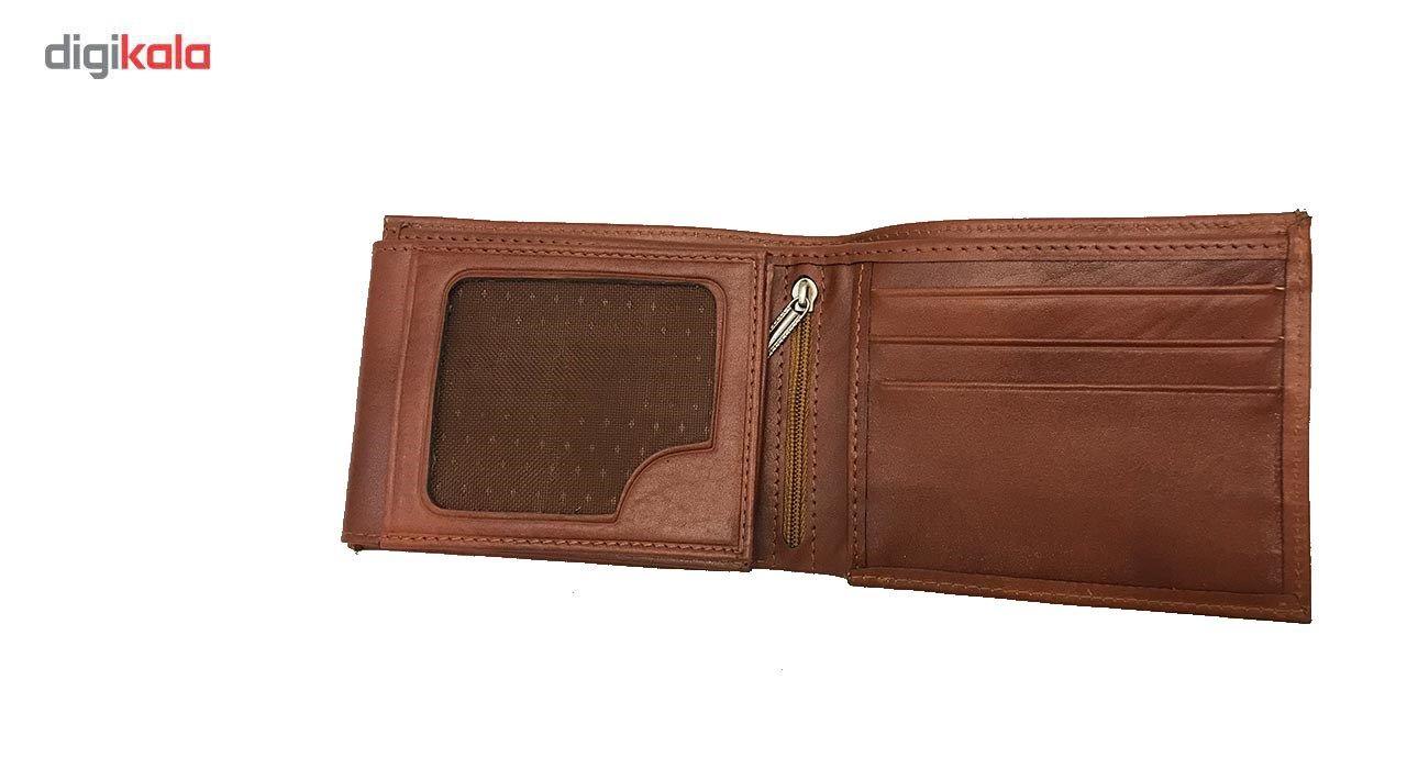 کیف پول چرم رایا مدل Rozana -  - 2
